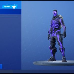 Fortnite account skull trooper skin season 5-10